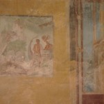 Fresco in the house of the tragic poet