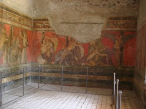 Frescos Villa of the Mysteries