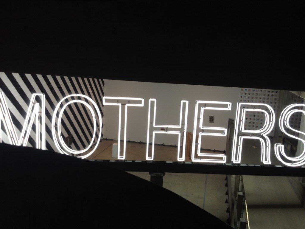 Some Mothers do have 'em. Eat your heart out Bruce Nauman, Martin Creed can play with neon too.